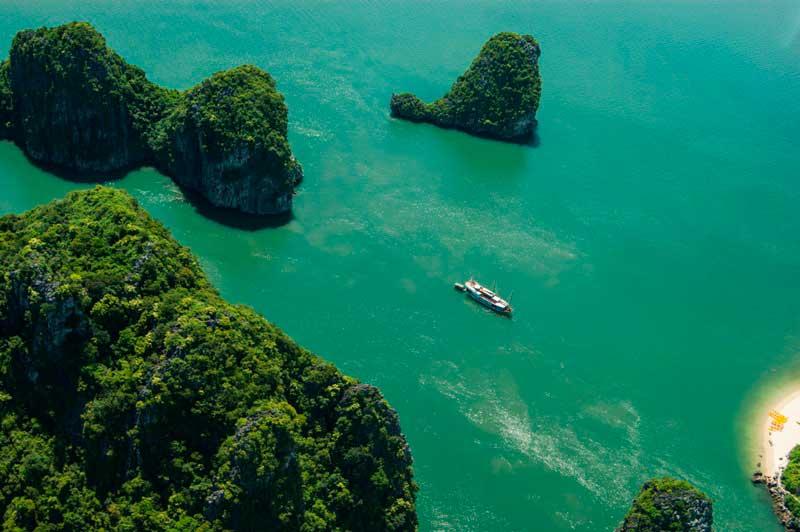 Халонг бухта Вьетнам Halong bay Vietnam