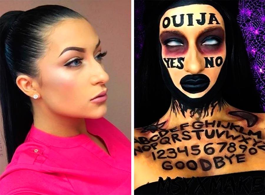 идеи макияжа на Хэллоуин Halloween