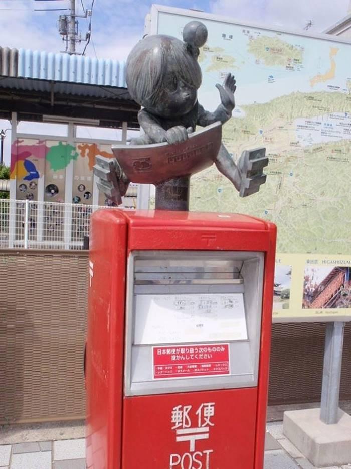 Странная красота почтовых ящиков Японии stange beauty inbox Japan