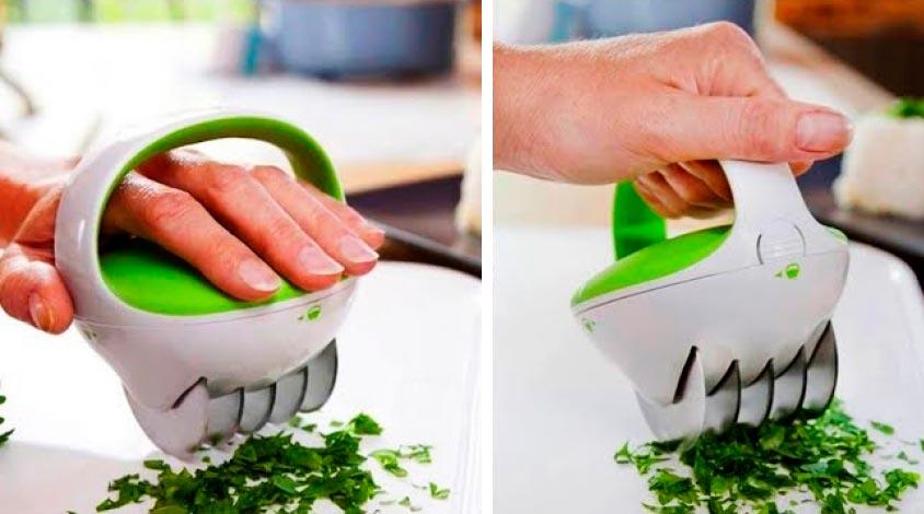 кухонные гаджеты kitchen gadgets Нож для зелени knife green