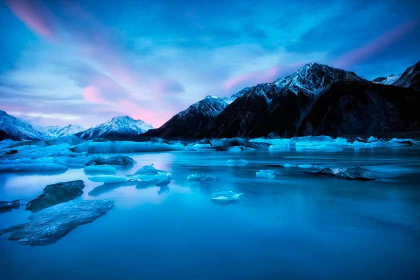 Darren J Bennett Даррен Беннетт: дух природы в морских пейзажах