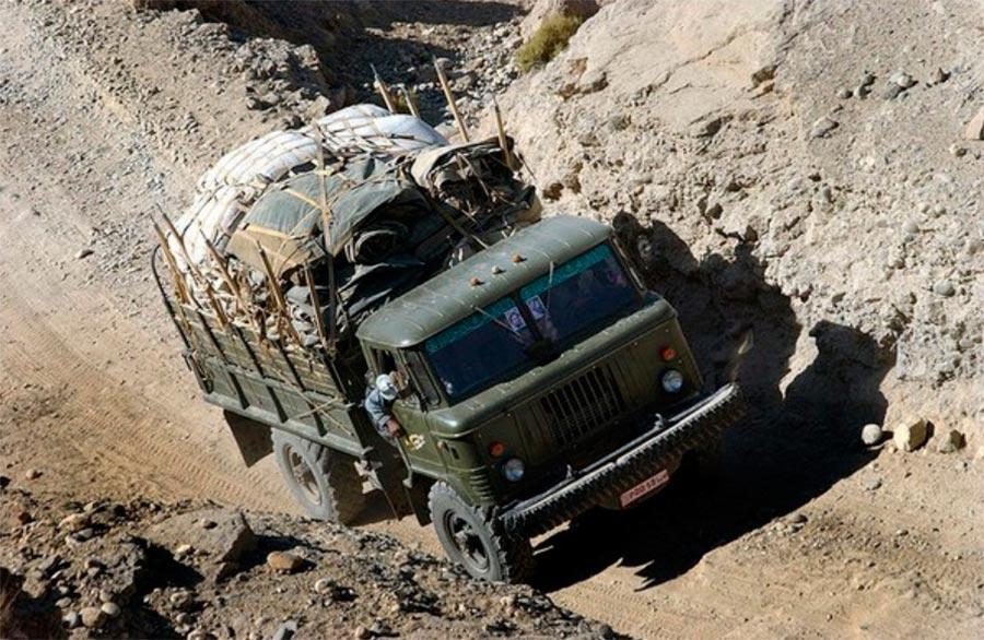 советские грузовики ГАЗ-66