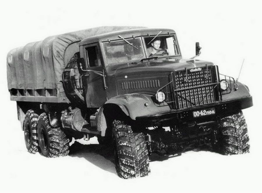 советские грузовики КрАЗ-255