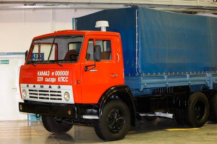 советские грузовики КамАЗ-5320