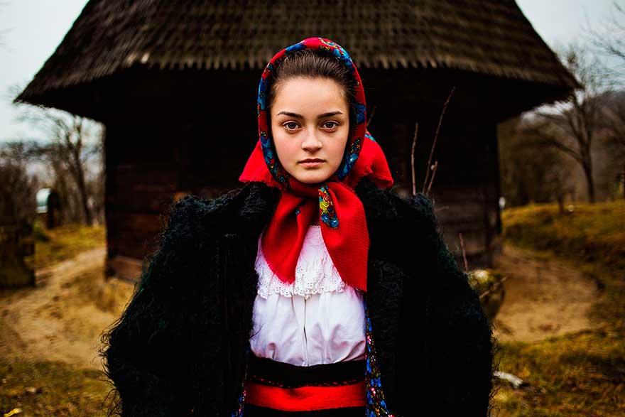 Михаэла Норок Mihaela Noroc фото женщин photos of women Марамуреш Румыния Maramures Romania