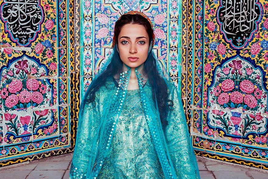 Михаэла Норок Mihaela Noroc фото женщин photos of women Шираз Иран Shiraz Iran