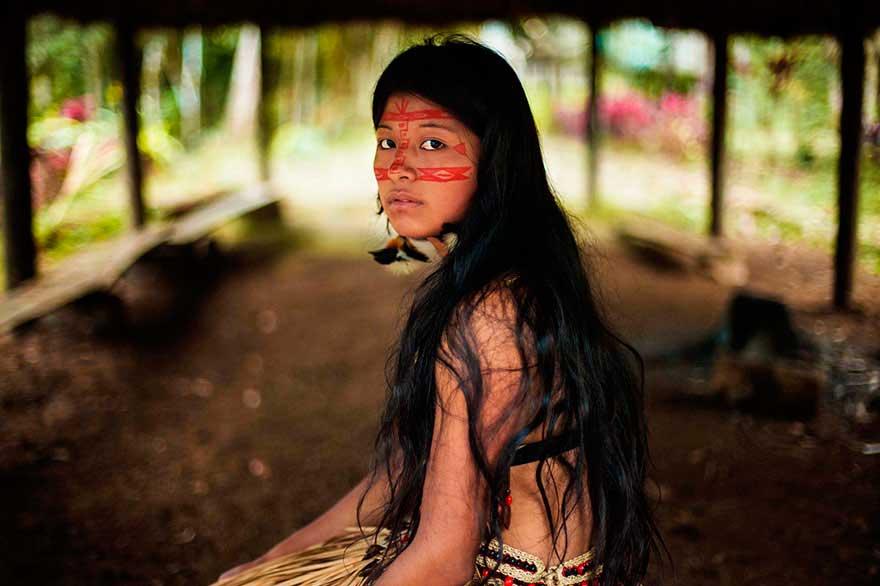 Михаэла Норок Mihaela Noroc фото женщин photos of women Тропический лес Амазонки The Amazon rainforest
