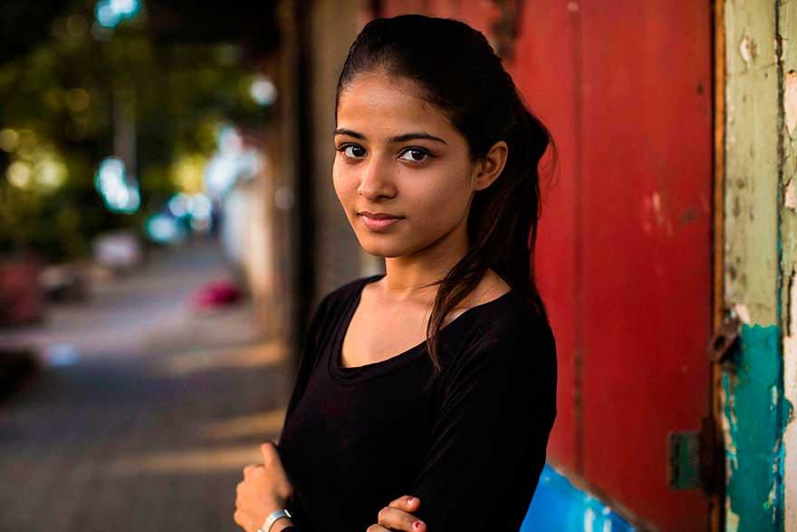Михаэла Норок Mihaela Noroc фото женщин photos of women Мумбаи Индия Mumbai India