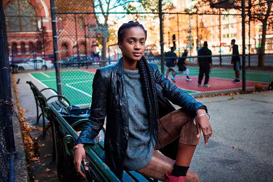 Михаэла Норок Mihaela Noroc фото женщин photos of women Гарлем Нью-Йорк США Harlem New York USA