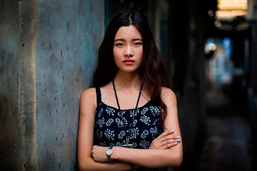 Михаэла Норок Mihaela Noroc фото женщин photos of women Пекин Китай Beijing China