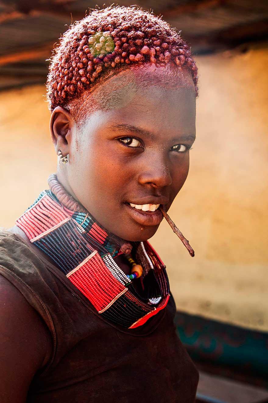 Михаэла Норок Mihaela Noroc фото женщин photos of women Долина Омо Эфиопия Valley OMO Ethiopia