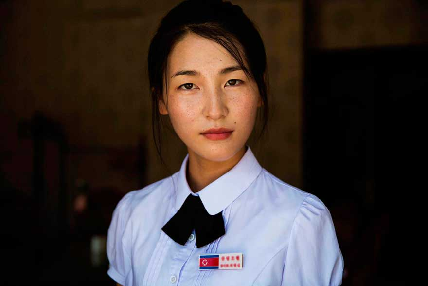 Михаэла Норок Mihaela Noroc фото женщин photos of women Синыйджу Северная Корея Sinuiju North Korea