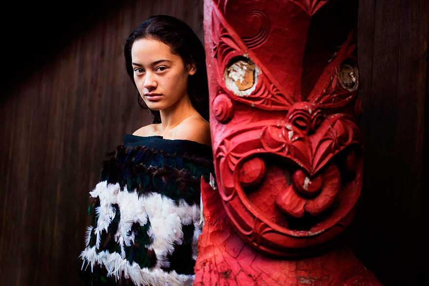 Михаэла Норок Mihaela Noroc фото женщин photos of women община Маори Новая Зеландия the Maori New Zealand