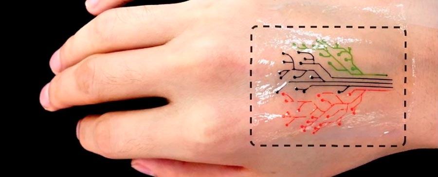 MIT татуировка из живых клеток