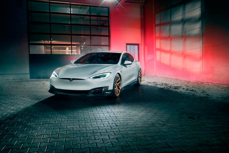 Novitec апгрейды Tesla Model S