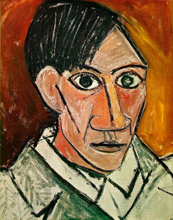 автопортрет Пикассо Picasso