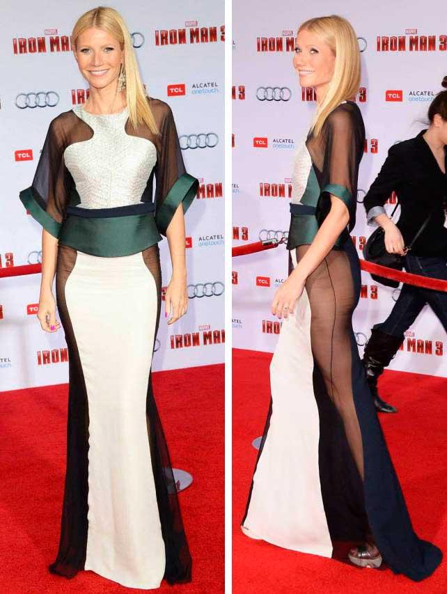откровенные наряды знаменитостей revealiting outfits of celebrities Гвинет Пэлтроу Gwyneth Paltrow