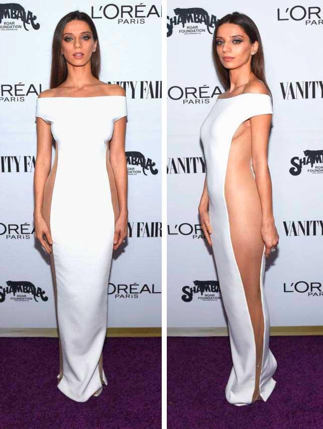 откровенные наряды знаменитостей revealiting outfits of celebrities Анжела Сарафян Angela Sarafyan