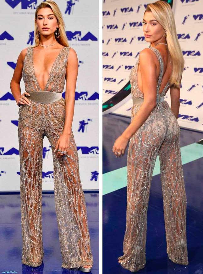 откровенные наряды знаменитостей revealiting outfits of celebrities Хейли Болдуин Hailey Baldwin