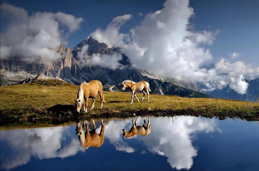 Правило третей фотография с отличной композицией Рядом с облаками Дарко Герсак