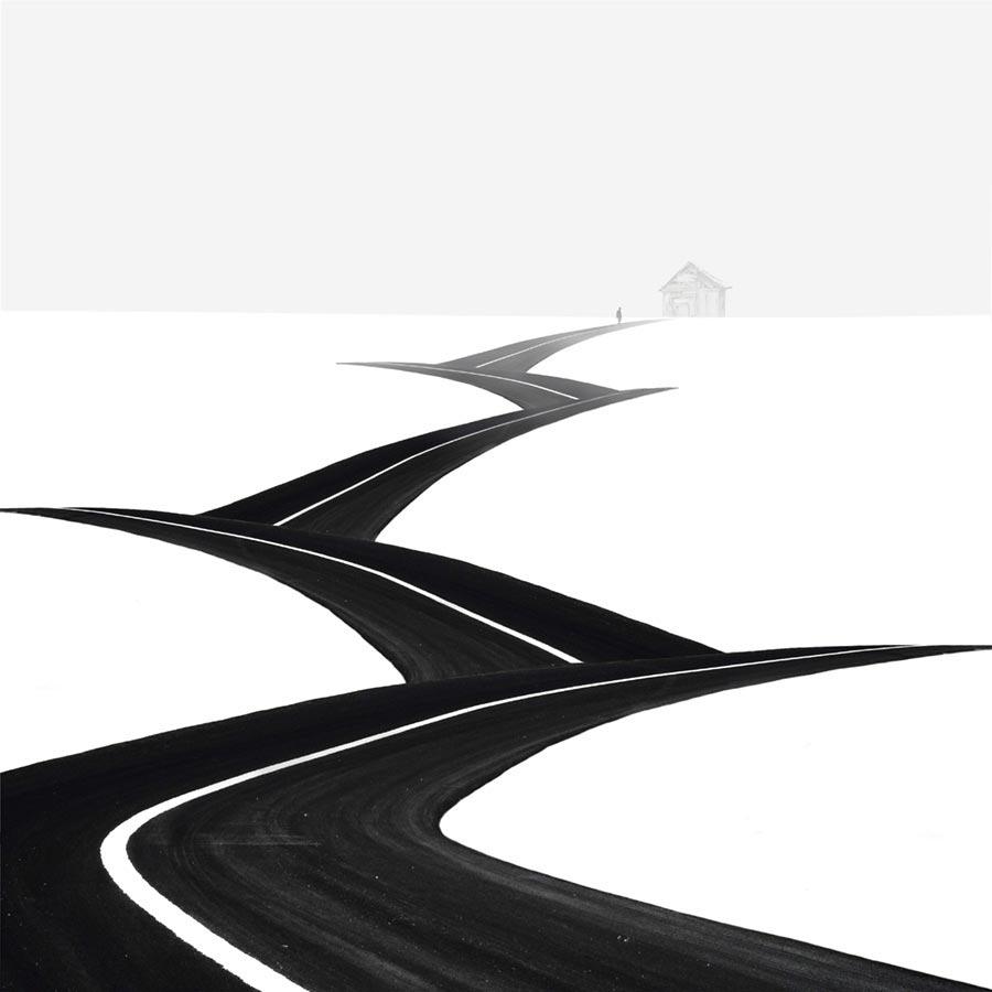 Правило третей фотография с отличной композицией Шаги Хоссейн Заре