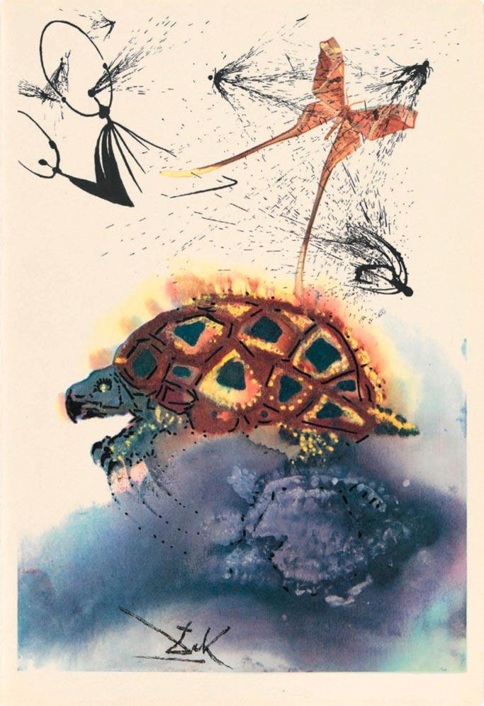 иллюстрации Сальвадора Дали к Алисе в Стране чудес illustrations by Salvador Dali for Alice in Wonderland Повесть Мок-Тартля