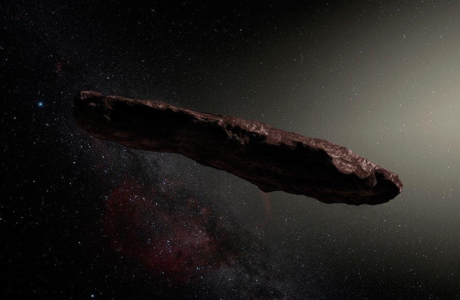 научные истории 2017 года scientific stories of 2017 межзвездный астероид interstellar asteroid