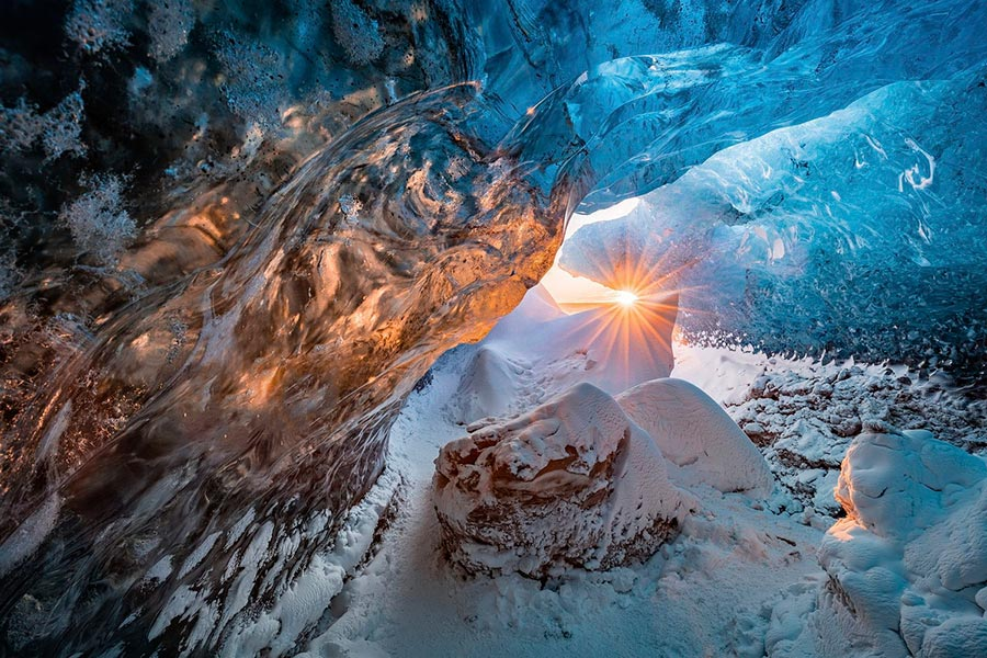 Фотоконкурс Siena International Photo Awards 2017 ледяная пещера ice cave Маркус ван Хаутен Marcus van Houten