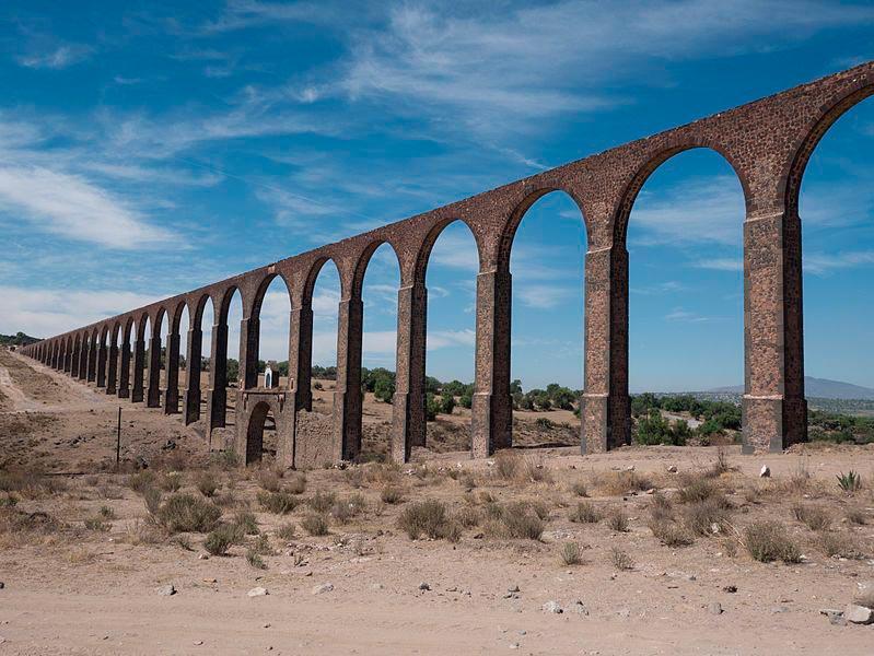 достопримечательности ЮНЕСКО sights UNESCO Акведук Padre Tembleque Мексика Mexico