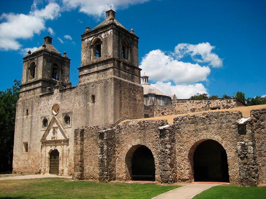 достопримечательности ЮНЕСКО sights UNESCO парк Миссия Сан Антонио США Park Mission San Antonio United States