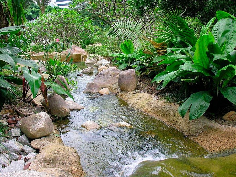 достопримечательности ЮНЕСКО sights UNESCO ботанические сады Сингапур botanic gardens Singapore