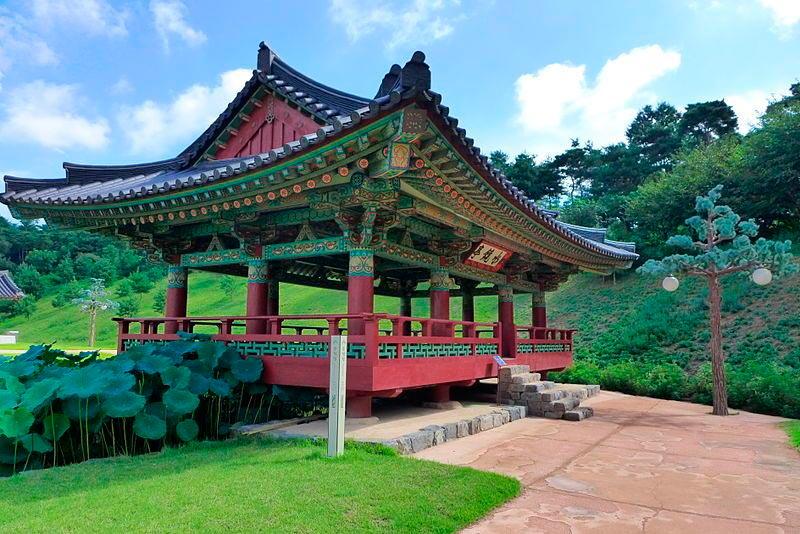 достопримечательности ЮНЕСКО sights UNESCO Пэкче Южная Корея South Korea