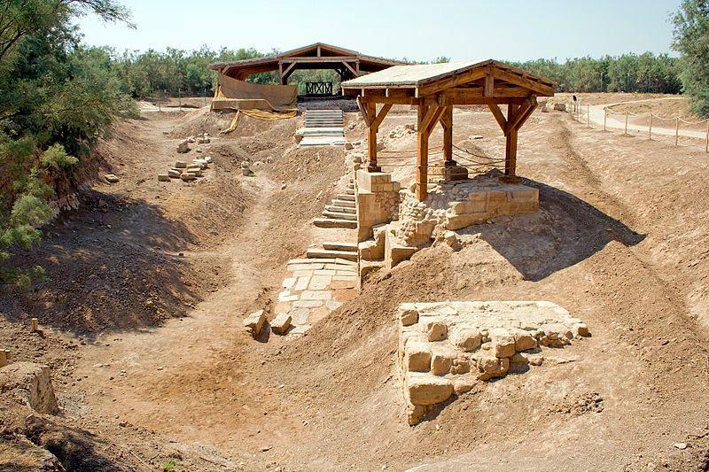 достопримечательности ЮНЕСКО sights UNESCO Место Крещения Иисуса Христа Иордания Jordan