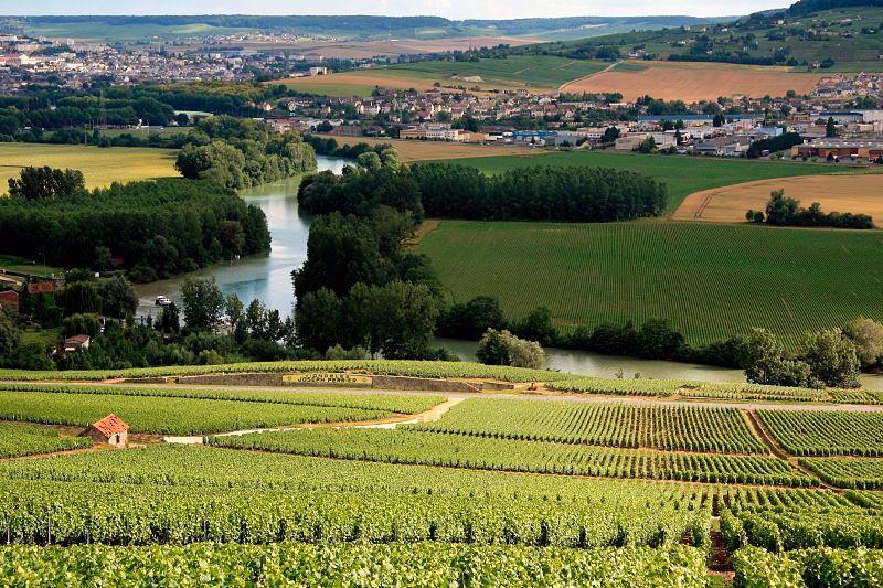 достопримечательности ЮНЕСКО sights UNESCO провинция Шампань Франция Champagne France