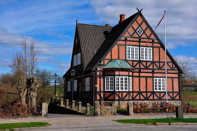достопримечательности ЮНЕСКО sights UNESCO Кристианфилд Дания Christianfeld Denmark