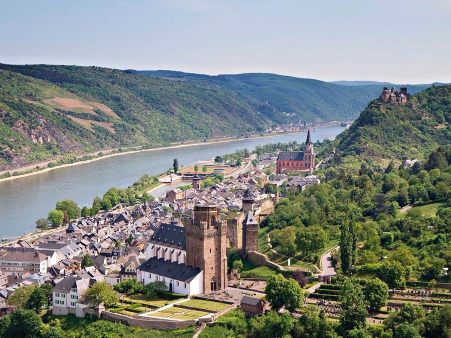 туристические направления Бахарах Германия Germany