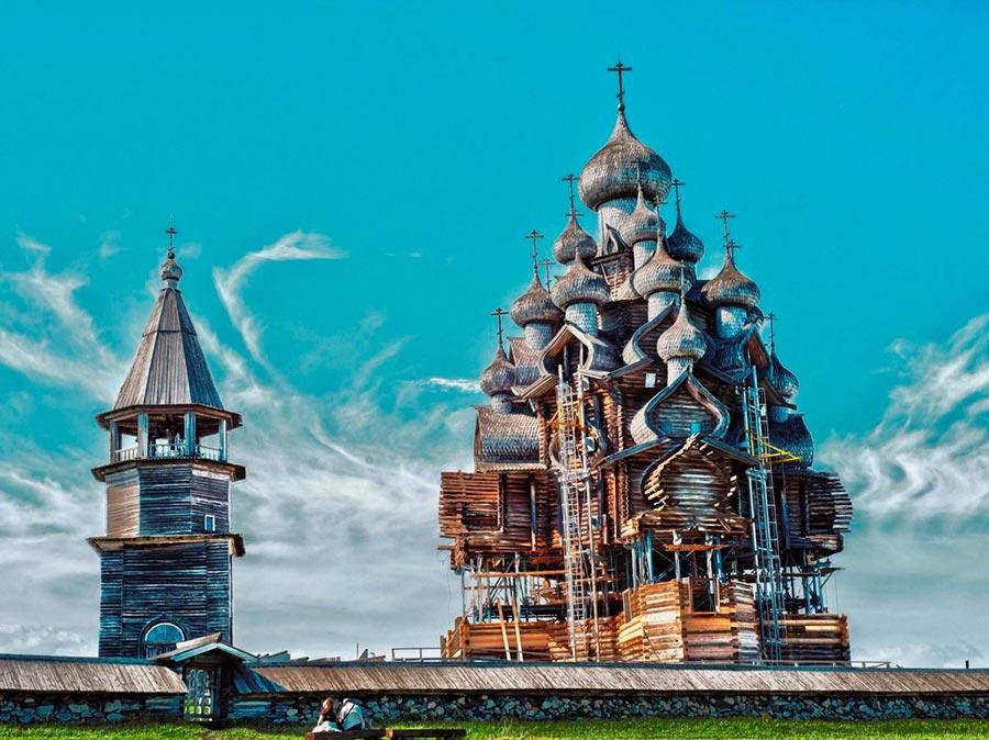 туристические направления Кижи Россия Russia