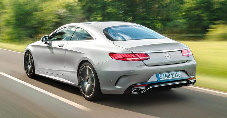 Обновленное купе Mercedes S-класс