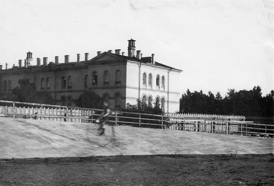 Каменноостровский велодром Петербурга