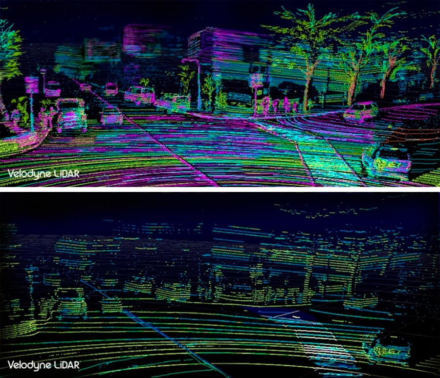 Velodyne улучшит зрение беспилотных авто improve eyesight autonomous cars