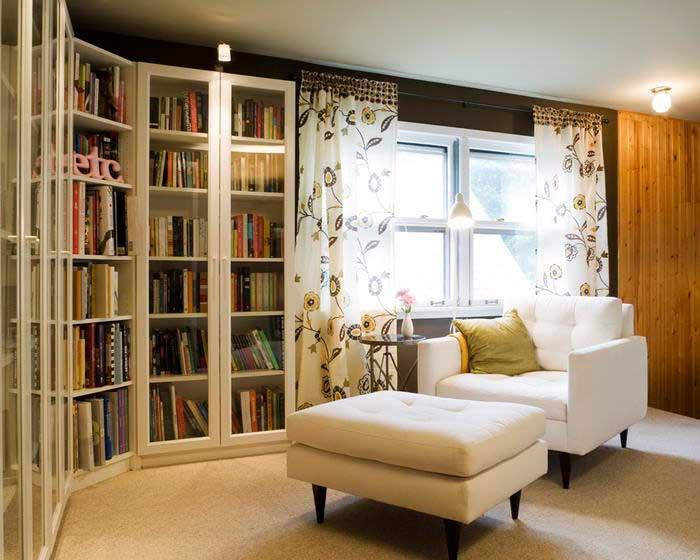 зимний уют в доме winter atmosphere in the house уголок для чтения the reading corner