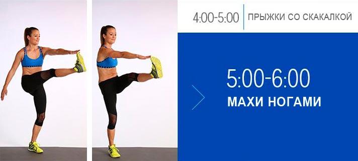 20-ти минутная тренировка для плоского живота