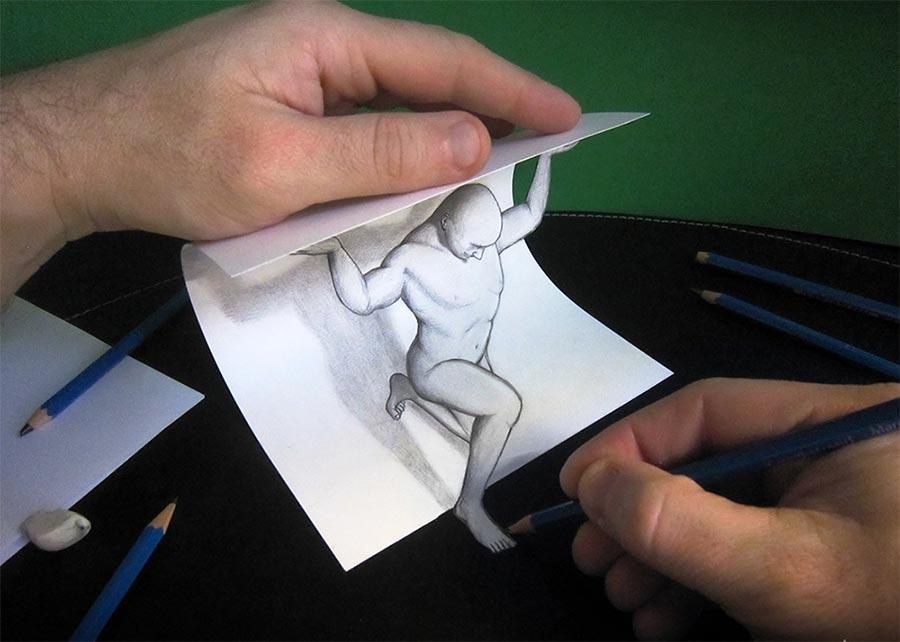 трехмерные рисунки