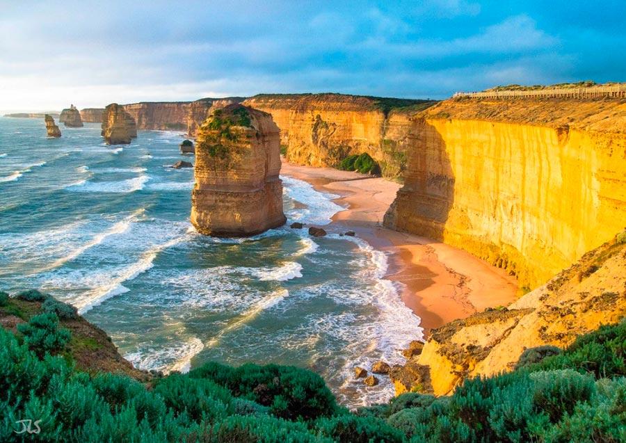 изумительные виды на земле amazing species on earth Двенадцать Апостолов Австралия Twelve Apostles Australia