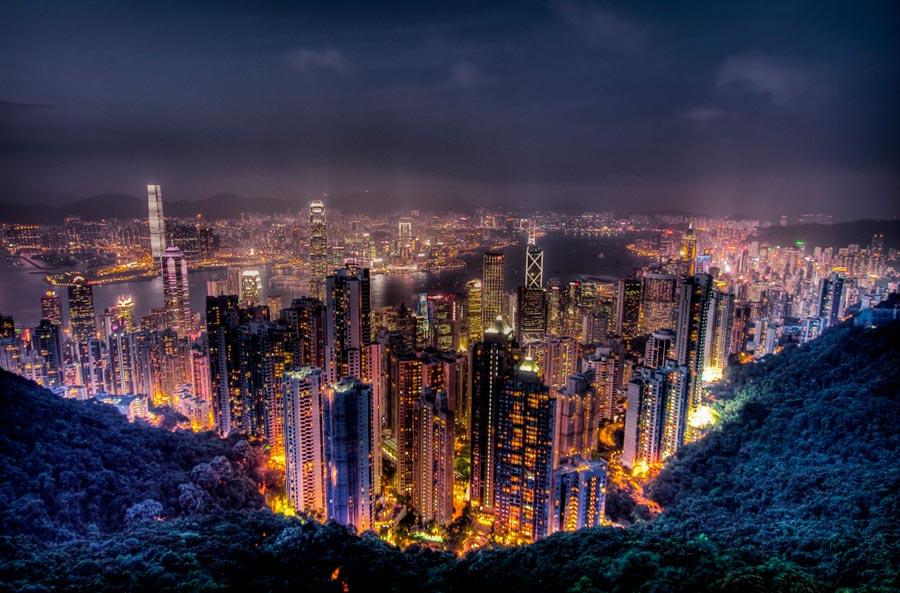 изумительные виды на земле amazing species on earth Пик Виктория Гонконг Victoria Peak hong Kong