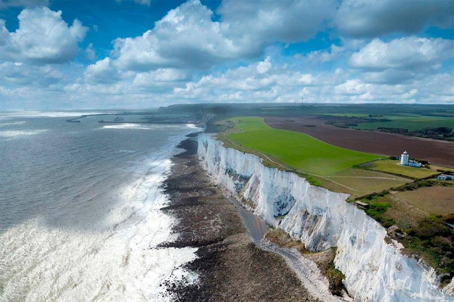 изумительные виды на земле amazing species on earth Белые клифы Дувра Англия the white cliffs jn Dover England