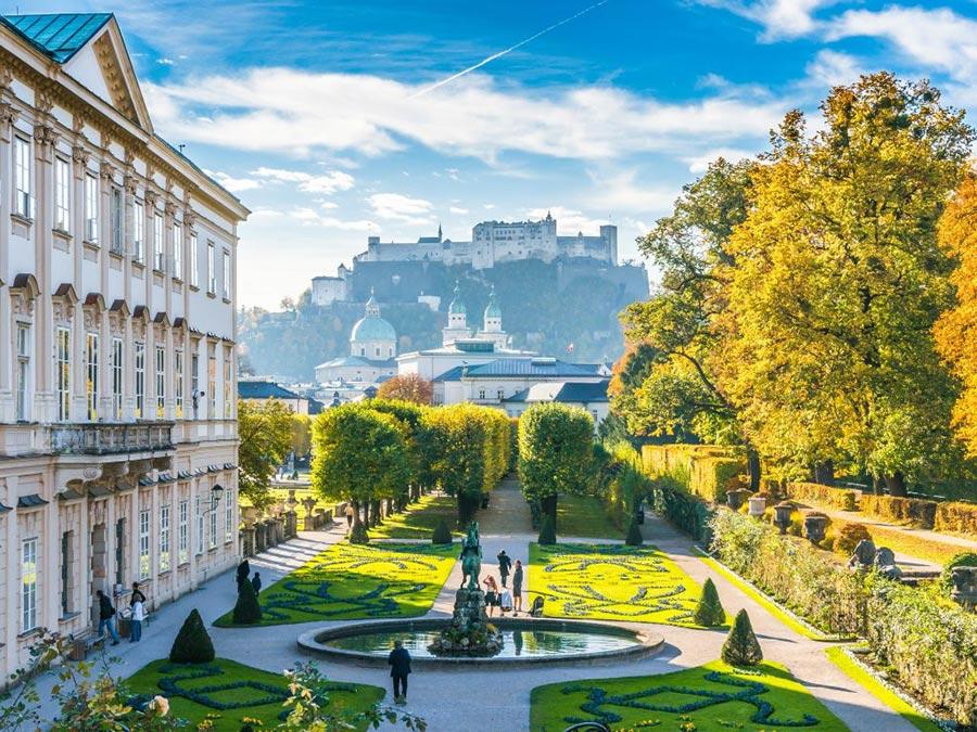 Австрия: природные и городские достопримечательности Зальцбург