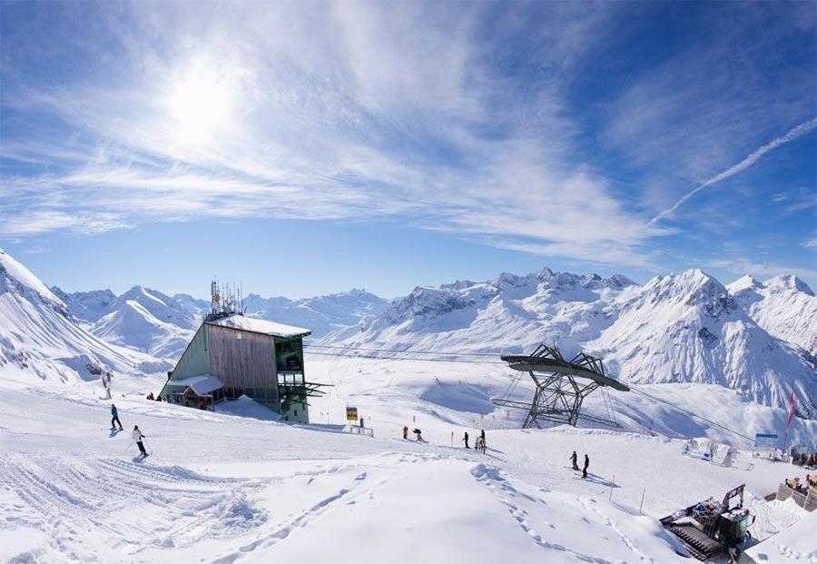 Австрия: природные и городские достопримечательности Арльберг