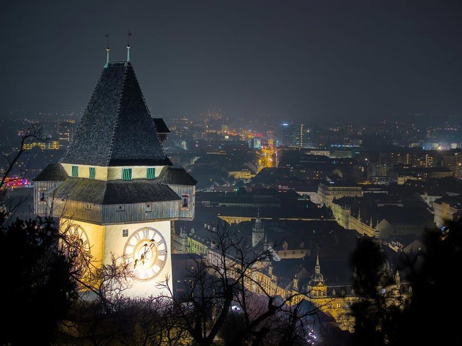 Австрия: природные и городские достопримечательности Грац