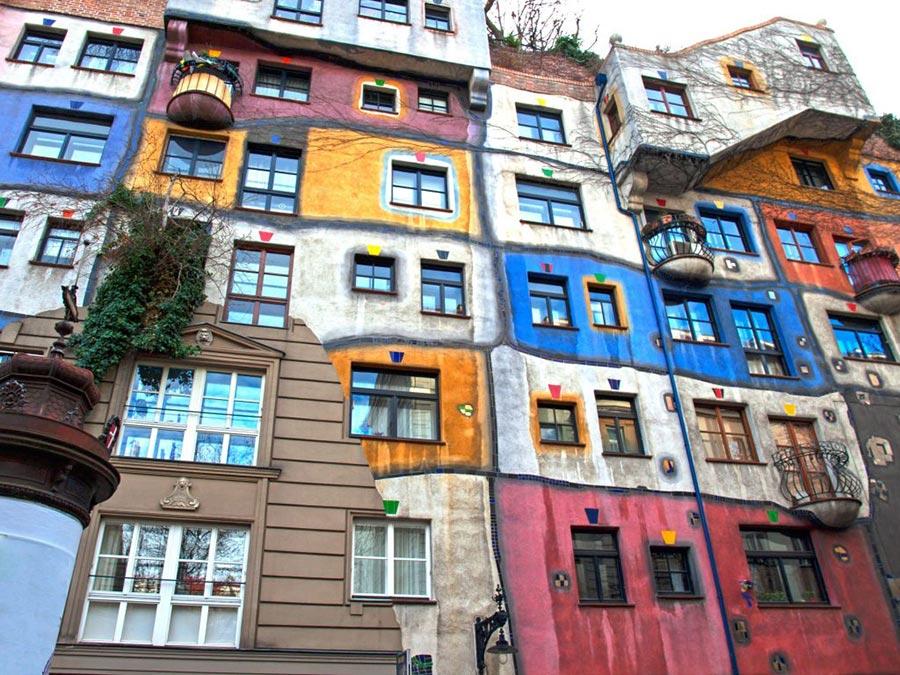 Австрия: природные и городские достопримечательности Дом Хундертвассера